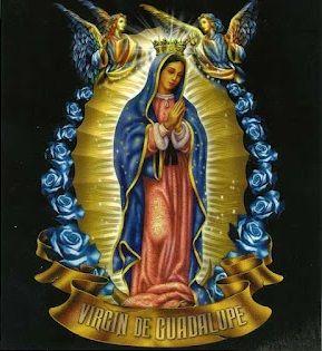 para orar la patrona de mexico virgen de Guadalupe