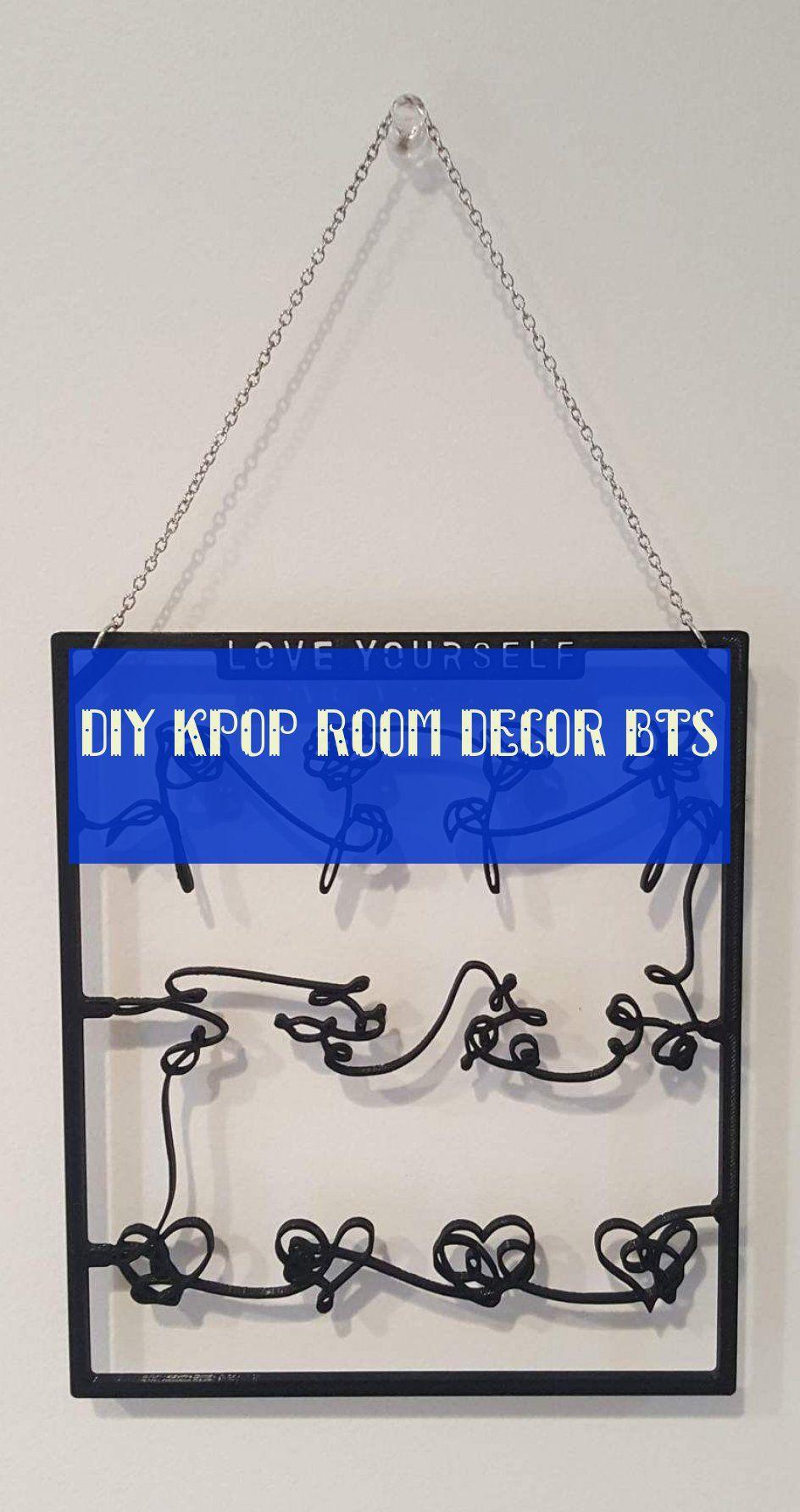 Diy Kpop Room Decor Bts Diy Kpop Bts Decor De La Salle Kpop Room Decor Bts Room Diy Kpop Diy