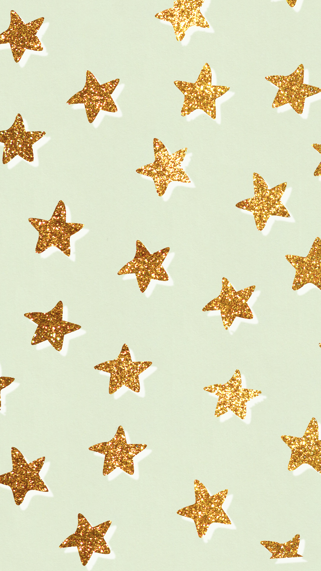 Trendy star mint wallpaper iPhone background home screen