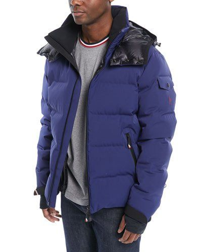 c6f9c0998 Moncler Grenoble Men s MontgeTech Quilted Hooded Puffer Jacket ...