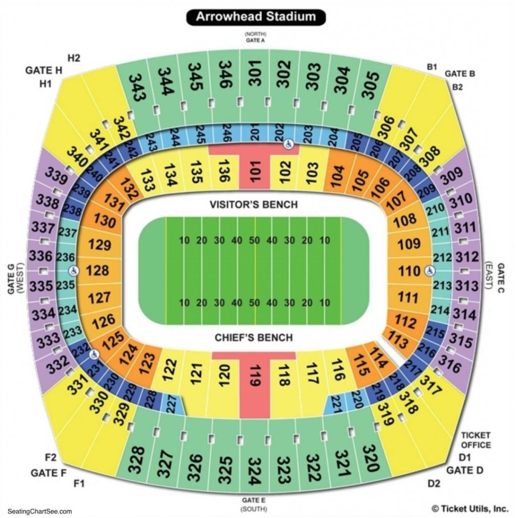 The Stylish In Addition To Stunning Kansas City Chiefs Seating Chart