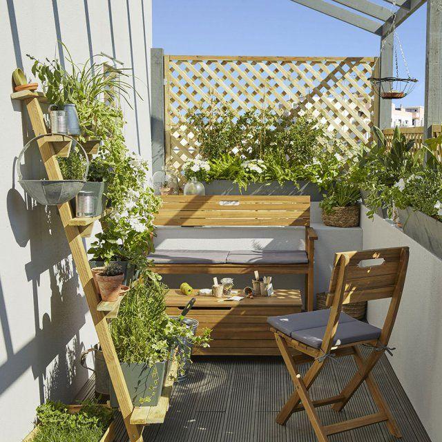 deco balcon amenagement jardin