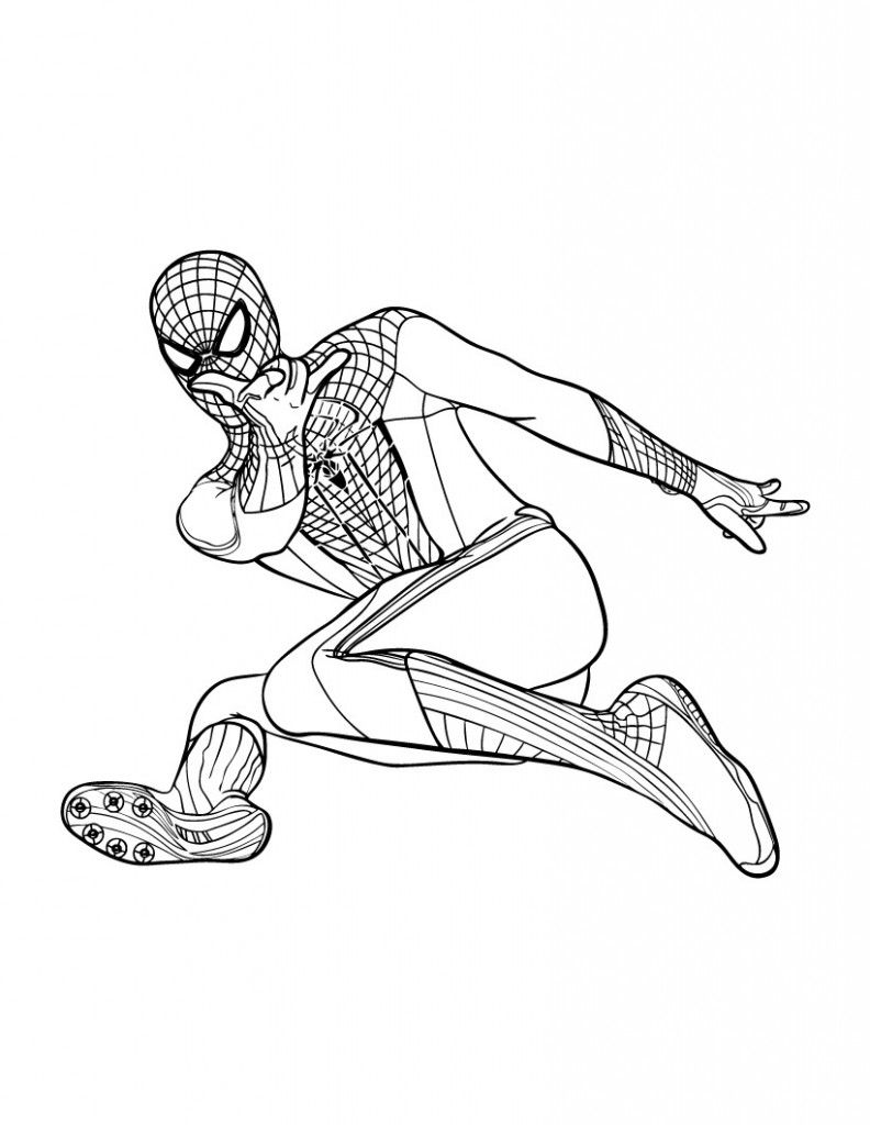 Free Printable Spiderman Coloring Pages For Kids Spiderman Coloring Coloring For Kids Coloring Pages