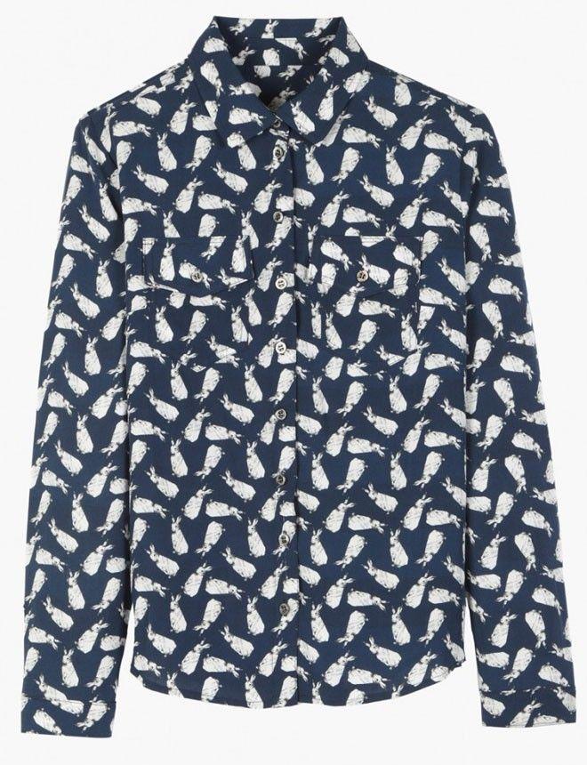 Paul&Joe #camisas http://www.marie-claire.es/moda/tendencias/fotos/camisas-un-basico-muy-de-moda/paul-joe-2