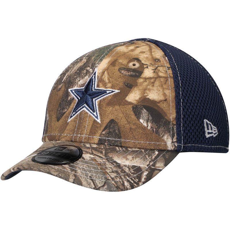 9824e76b1c68d ... italy dallas cowboys new era toddler neo 39thirty flex hat realtree  camo navy 8487f 01426 ...
