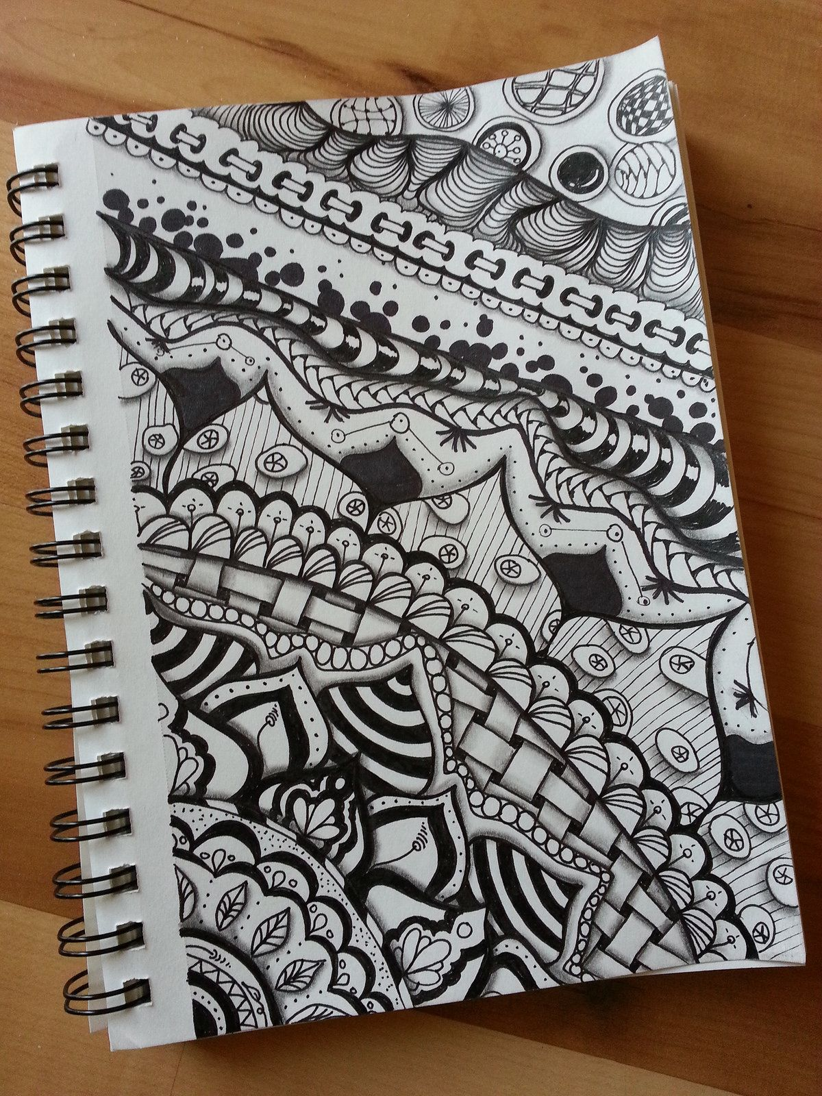 Zentangledoodle i did last night doodles