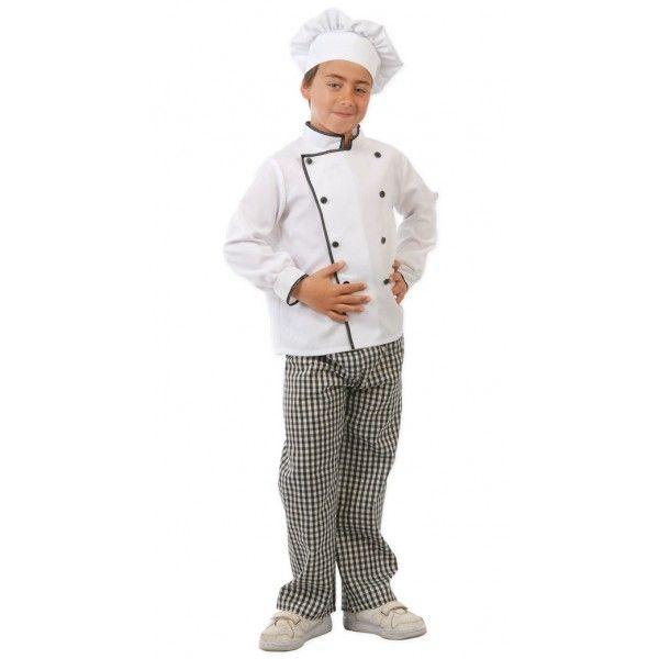 Comprar Disfraz de Cocinero Infantil para niños de 4 a 12 años. Un Top o c819c7bc5c9
