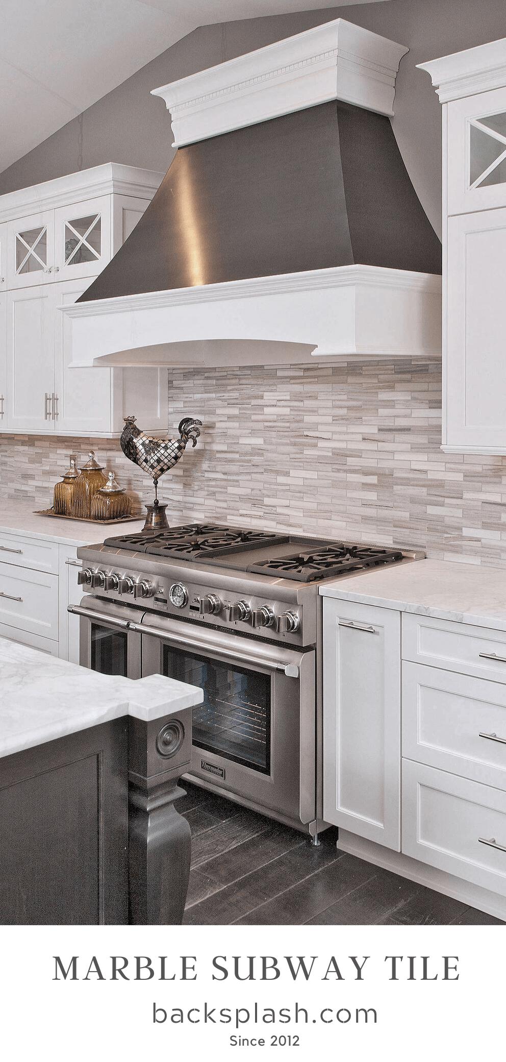 Marblekitchen In 2020 White Modern Kitchen Modern Kitchen Design Backsplash For White Cabinets