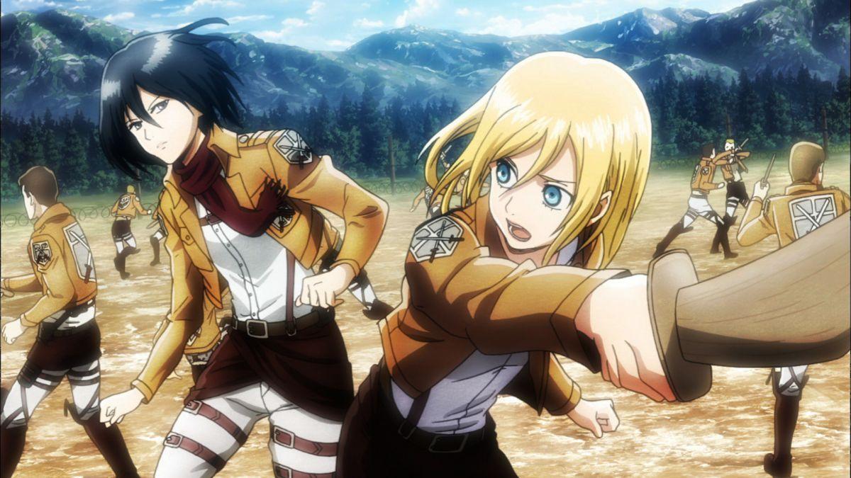 Attack On Titan  Kyojin, Mikasa, Shingeki no kyojin