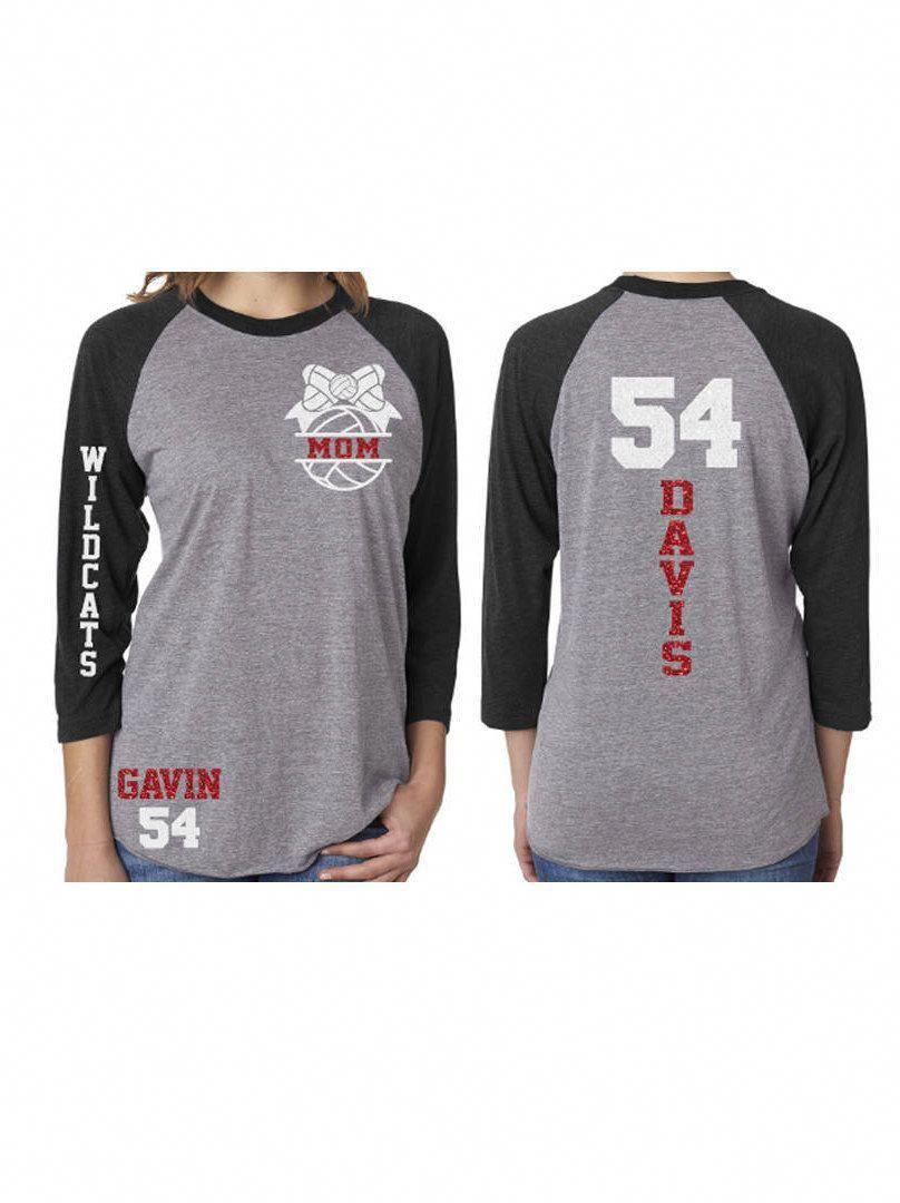 Glitter Volleyball Shirt Volleyball Mom Shirt Customized Etsy Volleyball Mom Shirts Volleyball Shirt Designs Mom Shirts