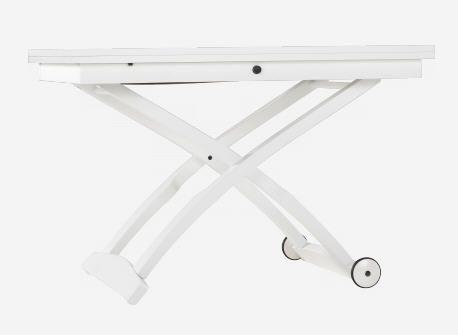 Soldes Table basse Habitat, achat ALLESSIO Table basse Blanc Bois ...