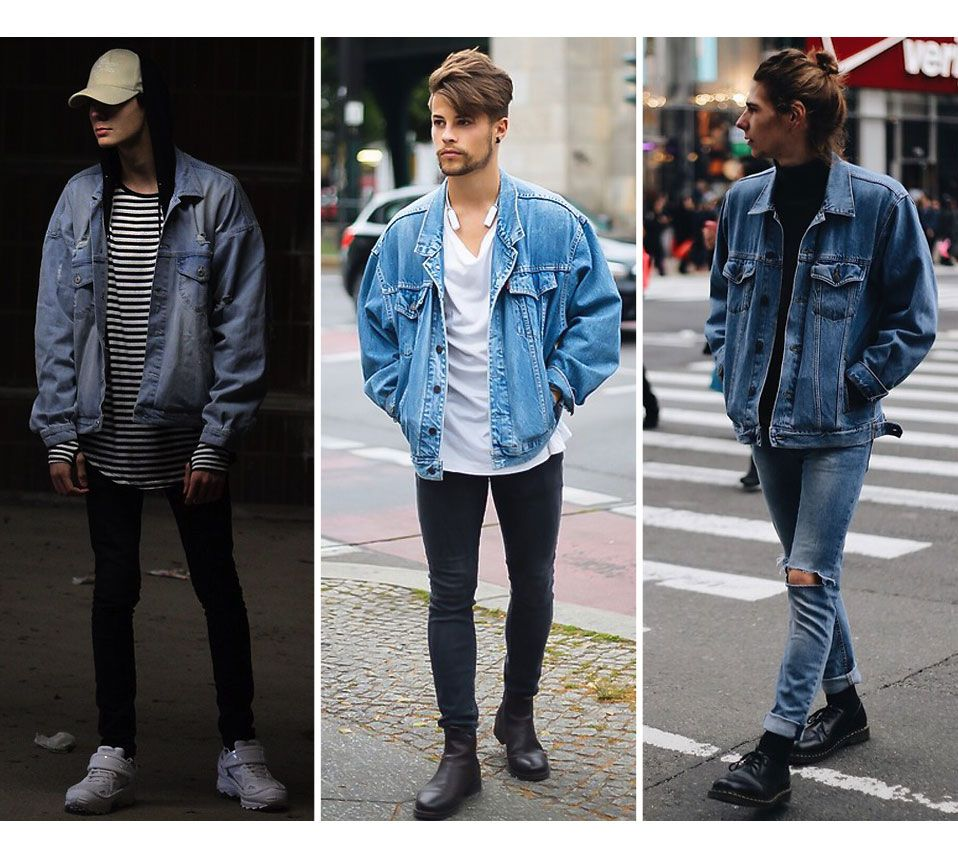 Image result for white trainers with denim jacket style ...