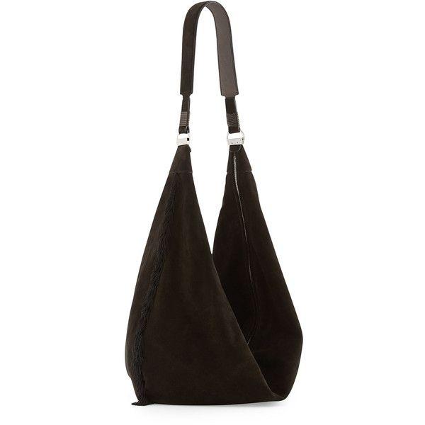 233728540e46 THE ROW Sling 15 Tassel Suede Hobo Bag ( 2