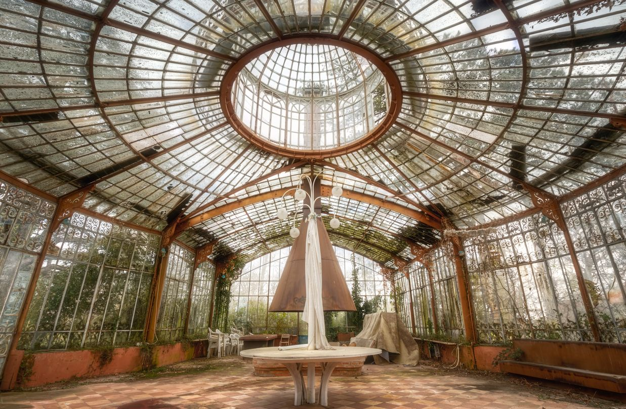 Forgotten Greenhouse In The South Of France By Roman Robroek