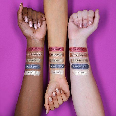TARTE Chrome Paint Shadow Pot | Swatches in 2018 | Pinterest ...