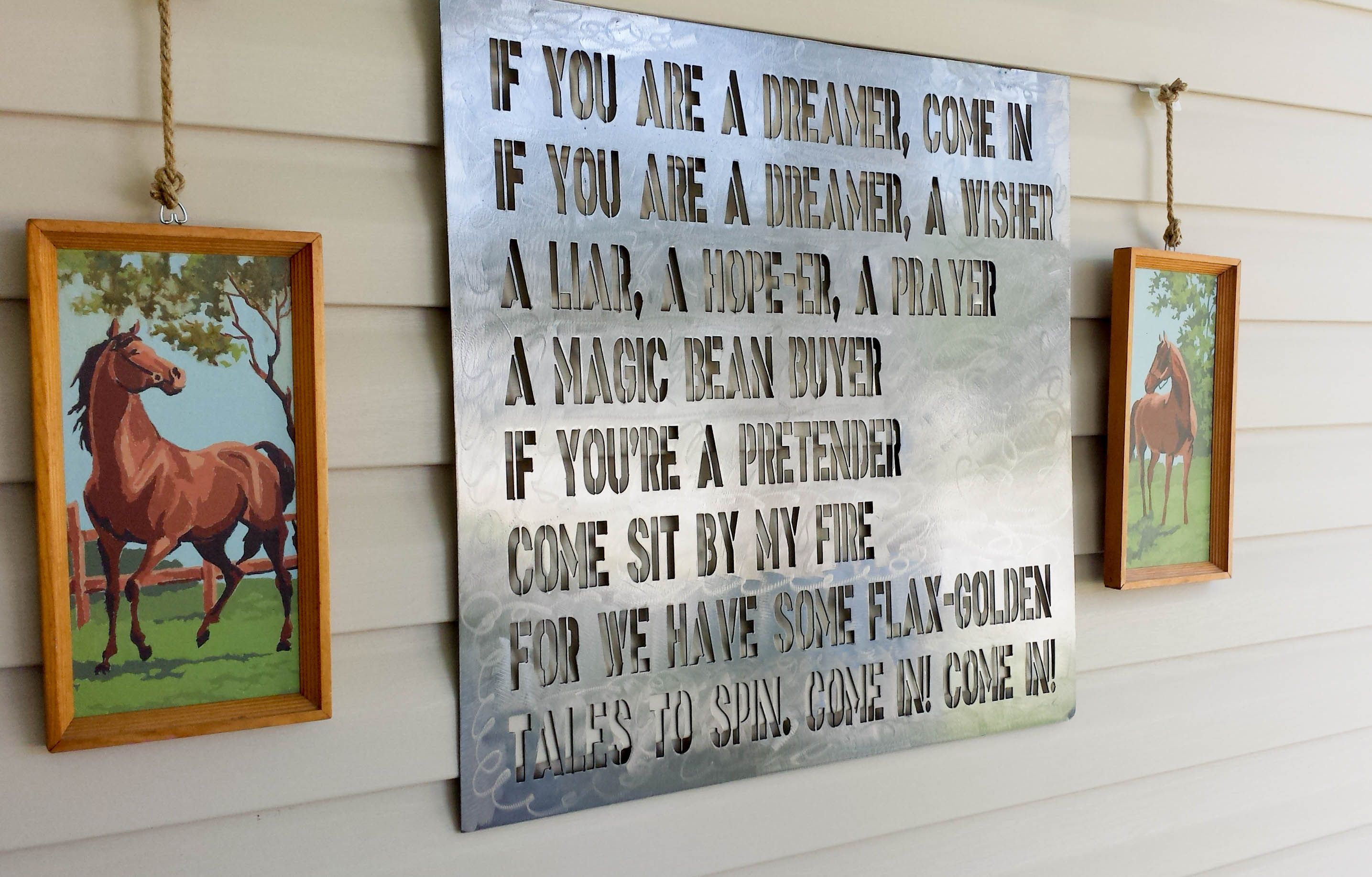 How to hang decor on vinyl siding vinyls how to hang and shel