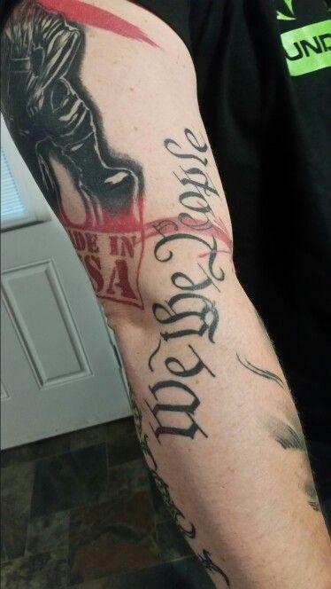 We The People Tattoo Tattoos Pinterest Tattoo Pride Tattoo
