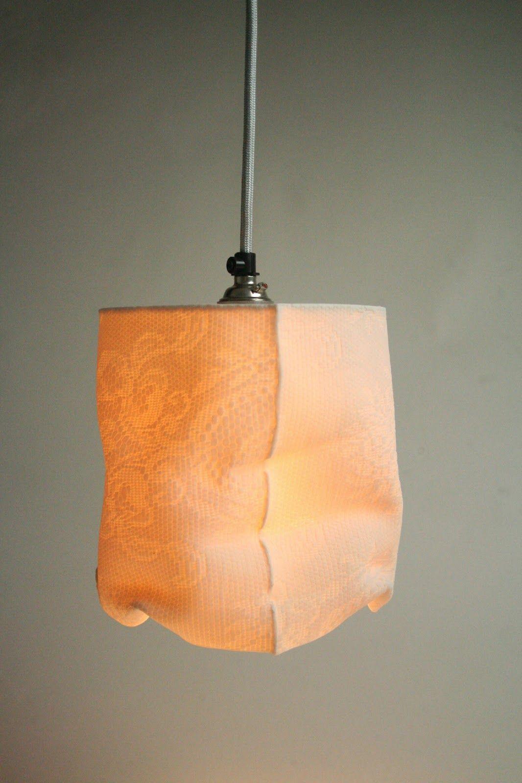 Louise Hall Ceramics Small Pendant Porcelain Lamp Porcelain Lamp Handmade Lampshades Ceramic Light