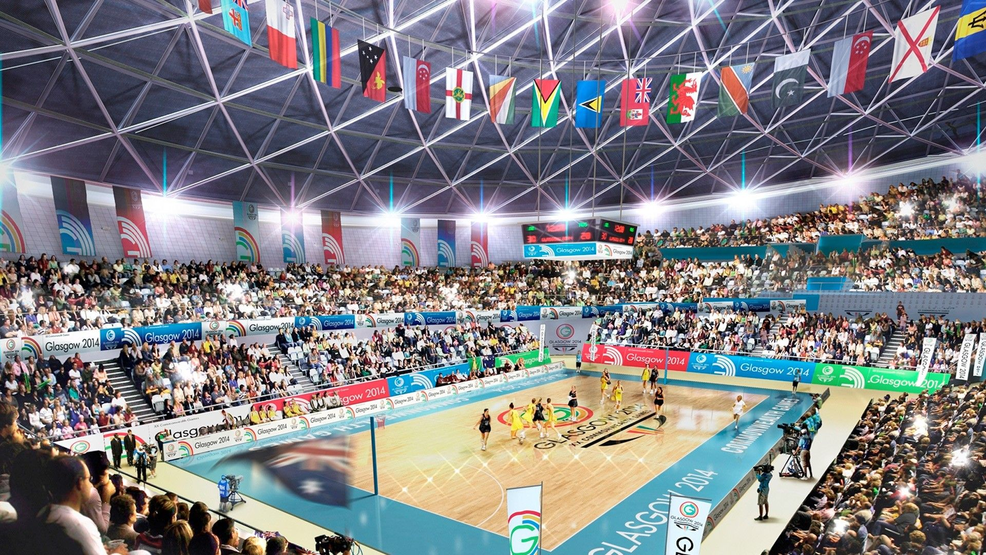 commonwealth games 2014 venues Commonwealth games, Uk tv