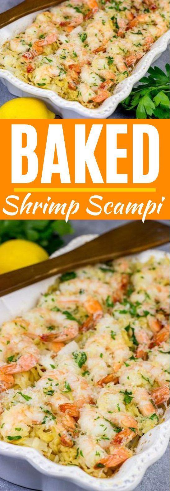 Baked Shrimp Scampi #shrimp #dinner #comfortfood #seafood #recipes #shrimpscampi Baked Shrimp Scampi #shrimp #dinner #comfortfood #seafood #recipes #shrimpscampi