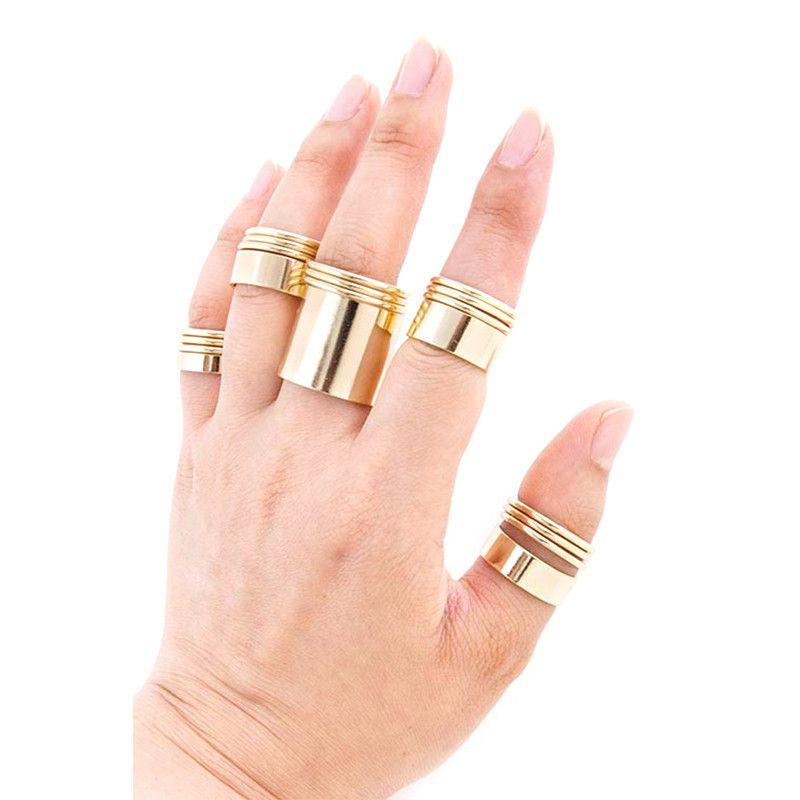 Fancy Layer Ring Set - Jewelry Buzz Box  - 1