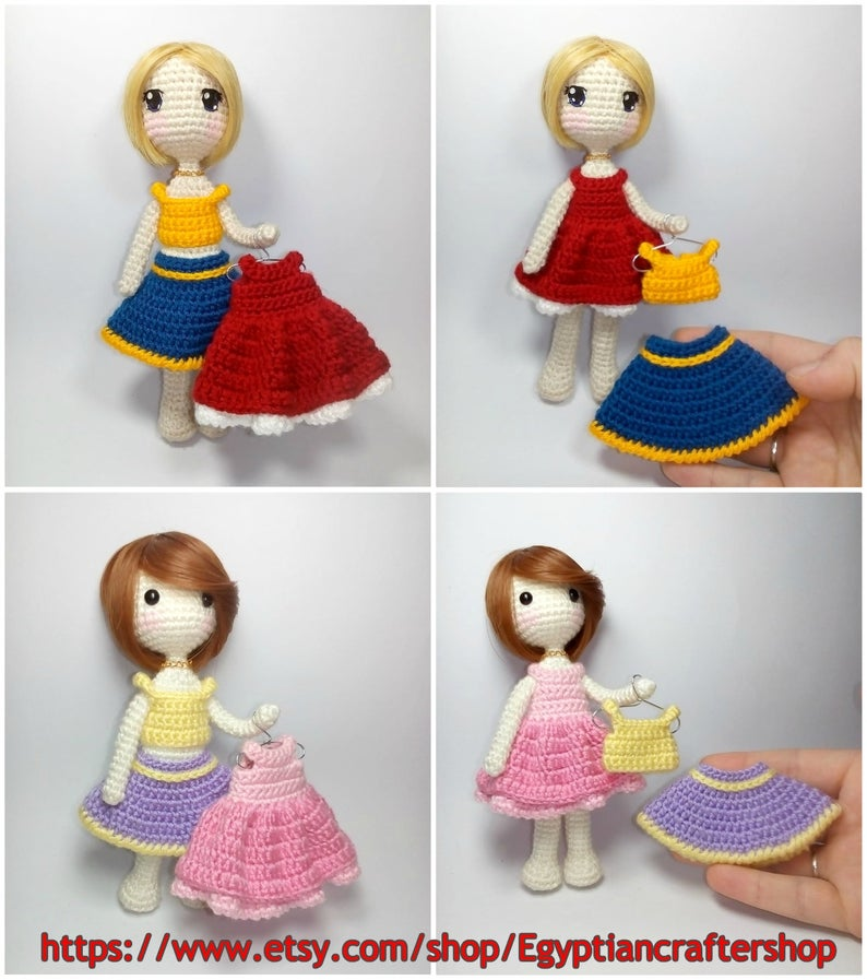 My Little Crochet Doll – Gorjuss pattern – Betty Virago | 897x794