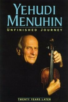 Unfinished Journey Twenty Years Later 978 0880642293 Yehudi Menuhin Fromm Intl Memoirs Unfinished Good Books
