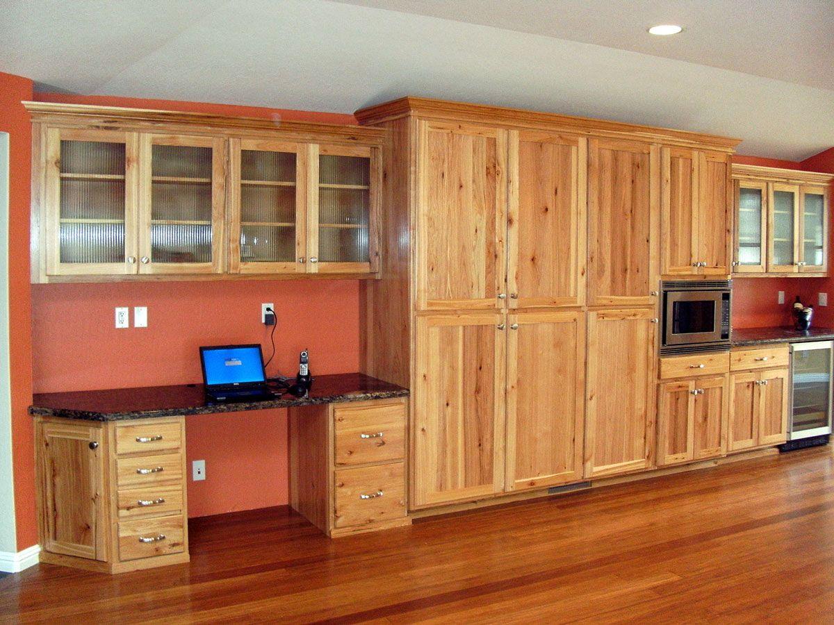 Hickory beadboard kitchen cabinets