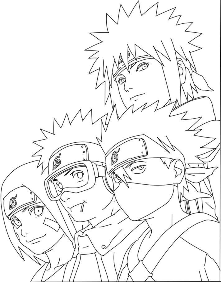 Naruto pour gwendal pinterest coloriage naruto - Coloriage naruto sasuke ...