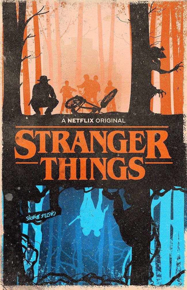 #stranger #things #poster