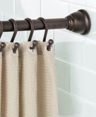 Interdesign Cameo Bronze Shower Curtain Tension Rod 43 75