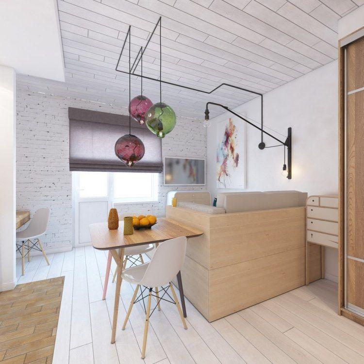 Aménager un studio de 30 m² en 6 idées extraordinaires ! Studio