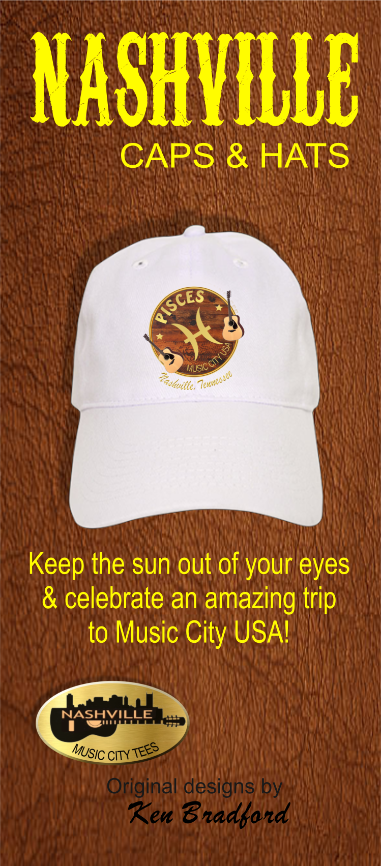 Nashville Zodiac Pisces Trucker Hat Zazzle Com Nashville Caps Hats Hats Pisces Zodiac Zodiac