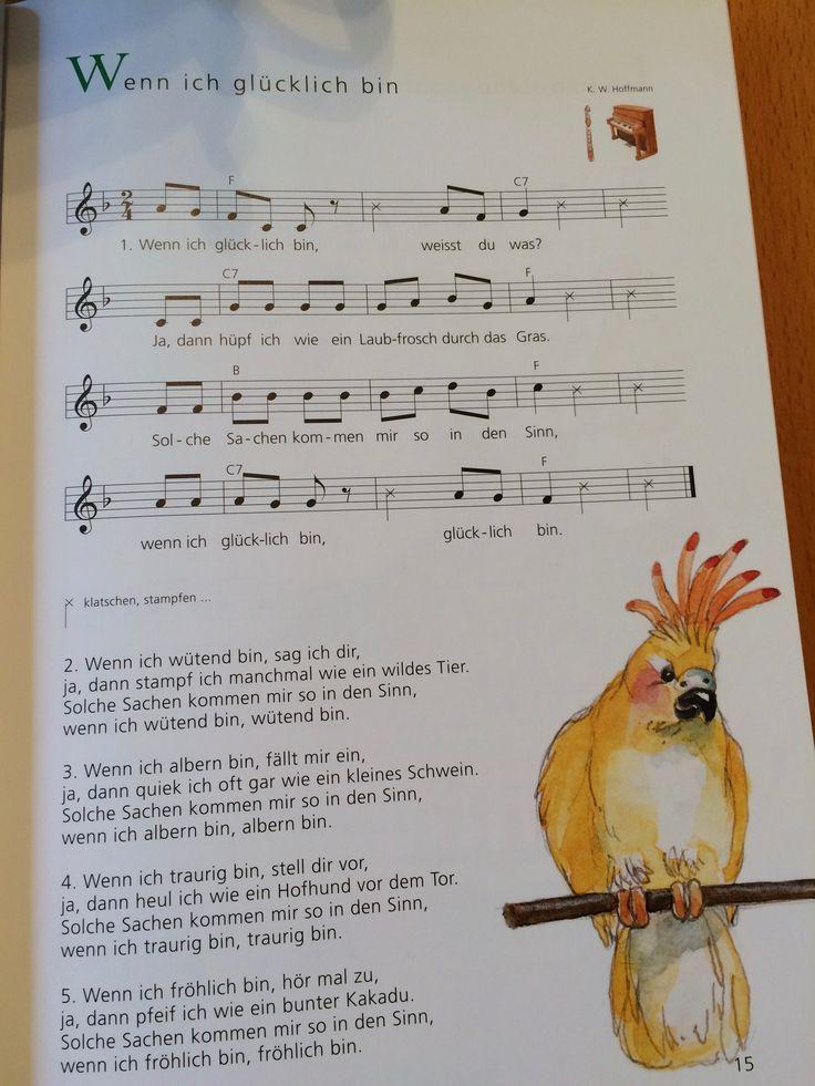 Wenn ich glücklich bin   – Lieder unter 3 – #bin #Glücklich #Ich #Lieder #unte… – Kindergarten Aktivitat