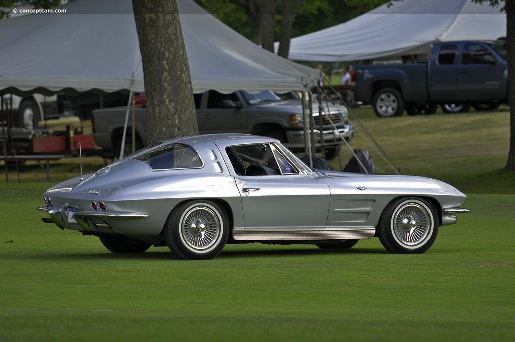 1963 Chevrolet Corvette Stingray split window Maintenance ...