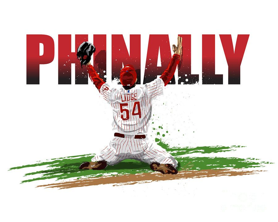 """""""World Series Champions Phinally"""" by David E. Wilkinson"""