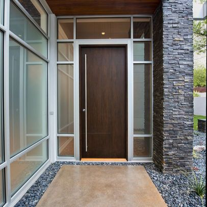 Modern Home single front door Design Ideas, Pictures, Remodel and ...