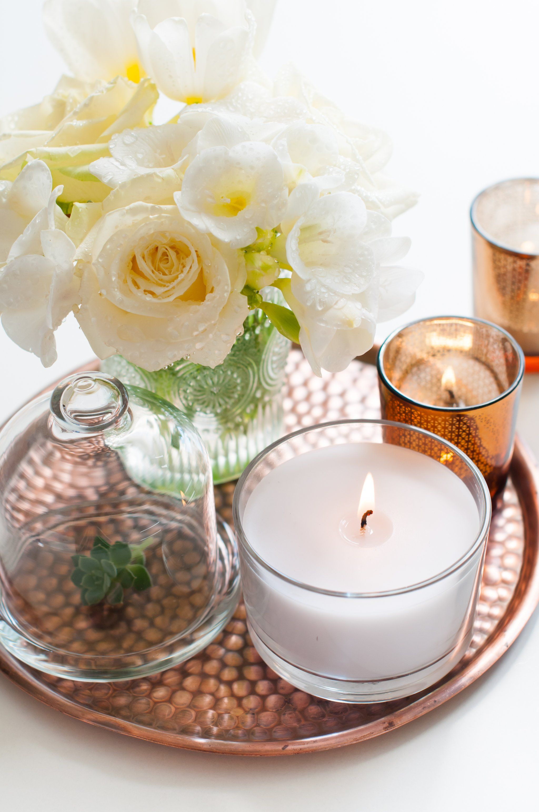 nonbasic ways to display candles around your home styling
