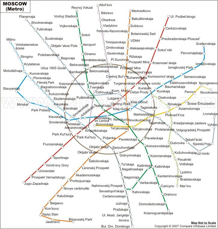 Moscow Metro Map World Maps Pinterest Moscow metro Moscow and