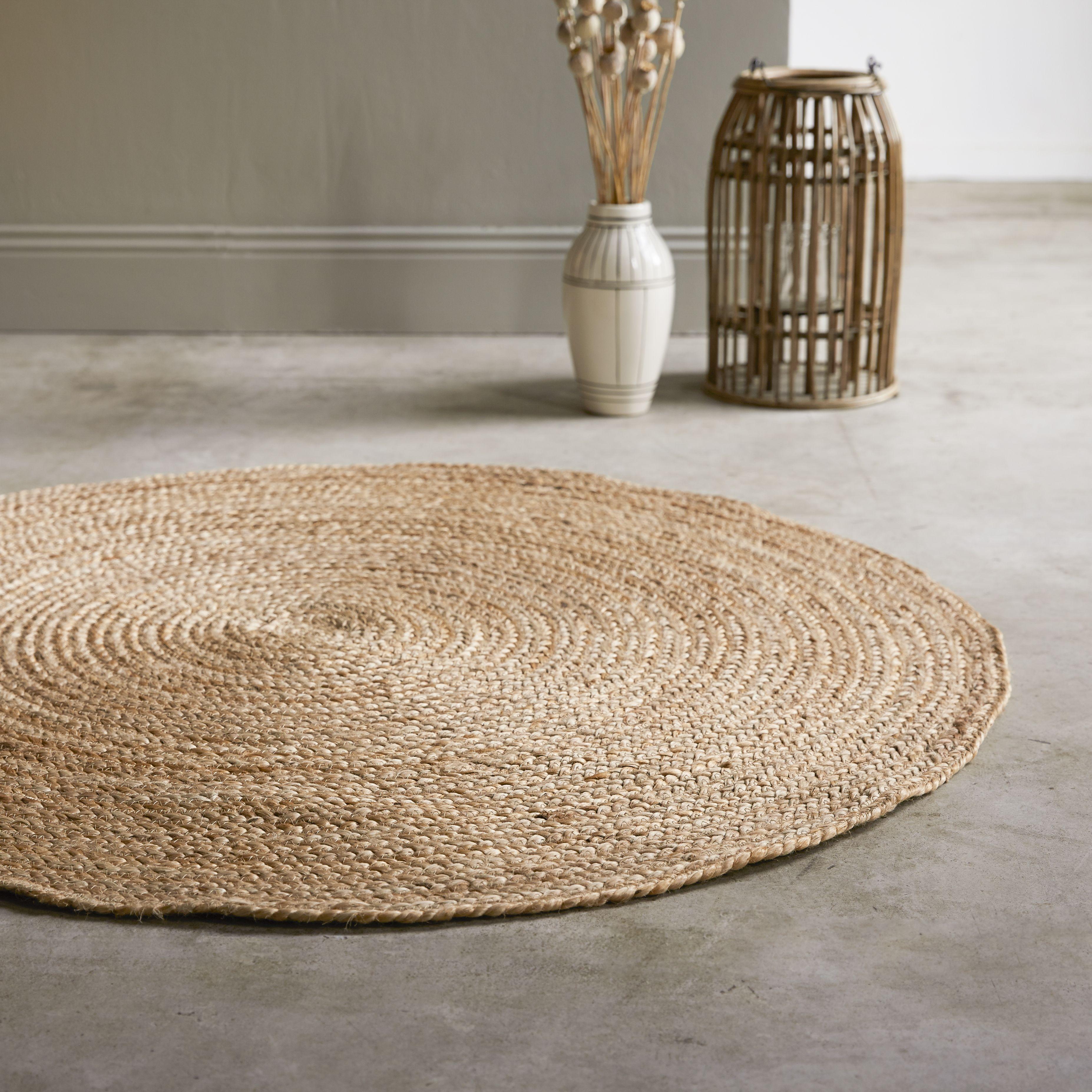 le tapis casatera en jute horace 120 cm