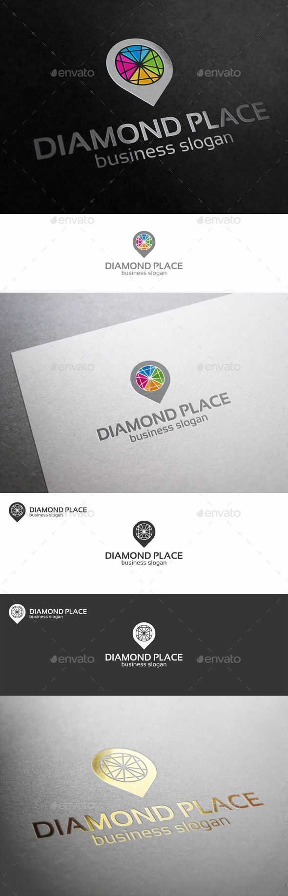 Diamond Point Place Locator Logo Template – Excellent logo in vector format for diamond shop logo, diamond manufacturing industry, jewelry market logo, sell jewelry, bijouterie shops, e-shops, online shop, e-market, tv shop, shopping tv, online shopping, e-store, retail businesses, holiday gift, gifts service, souvenir business, shopping stores, tech support, and related companies. You can easily change the text. You can freely experiment with color.