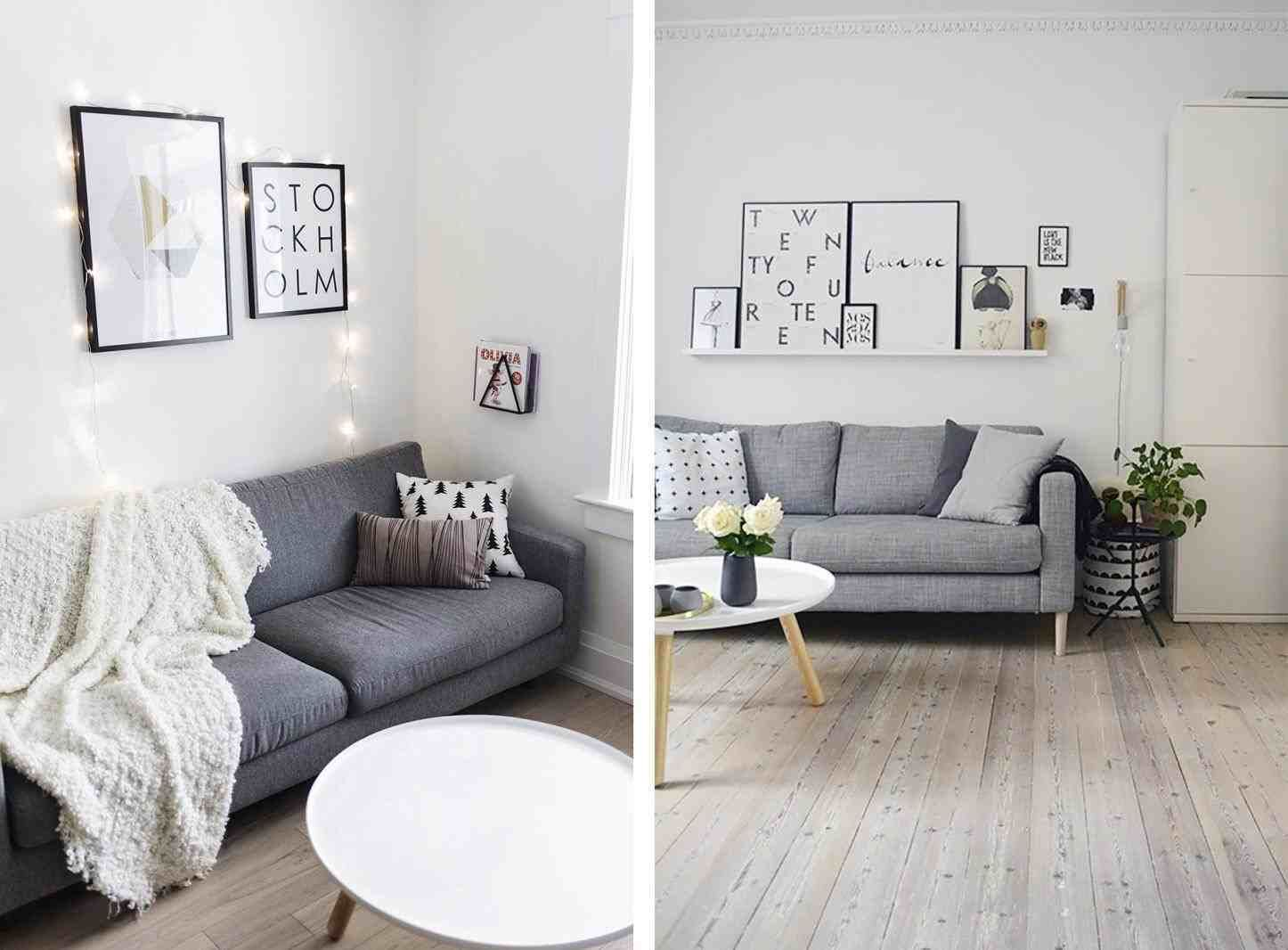 scandinavian style living room . scandinavian living room, string ...