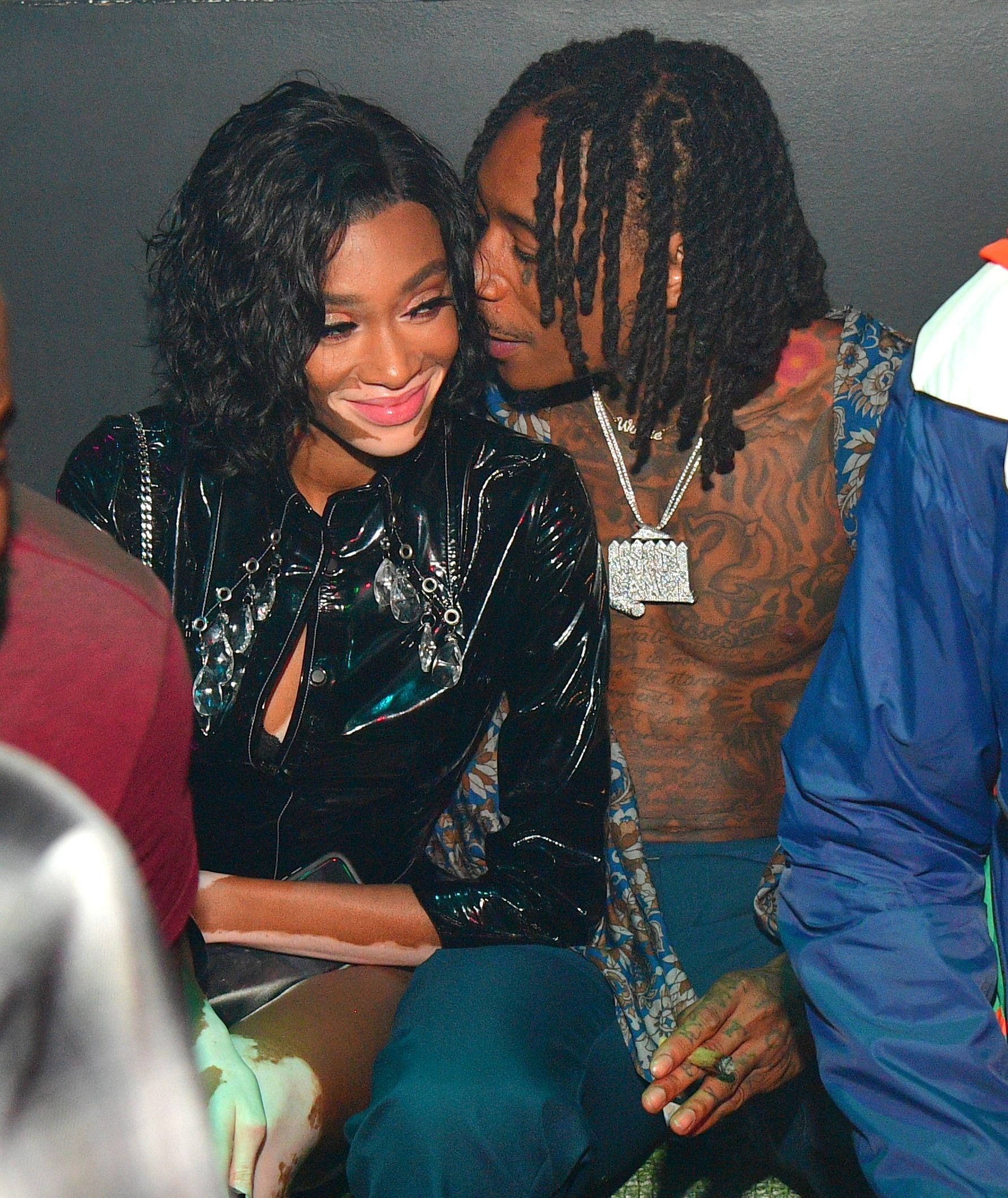 Wiz Khalifa And Winnie Harlow Winnie Harlow Wiz Khalifa The Wiz