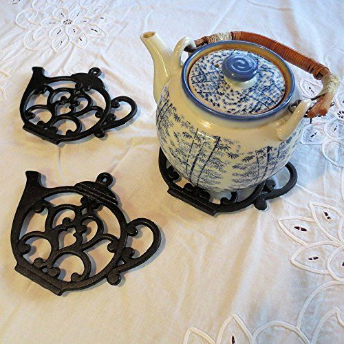 Charming Teapot Trivet For Protecting Surfaces From Heat