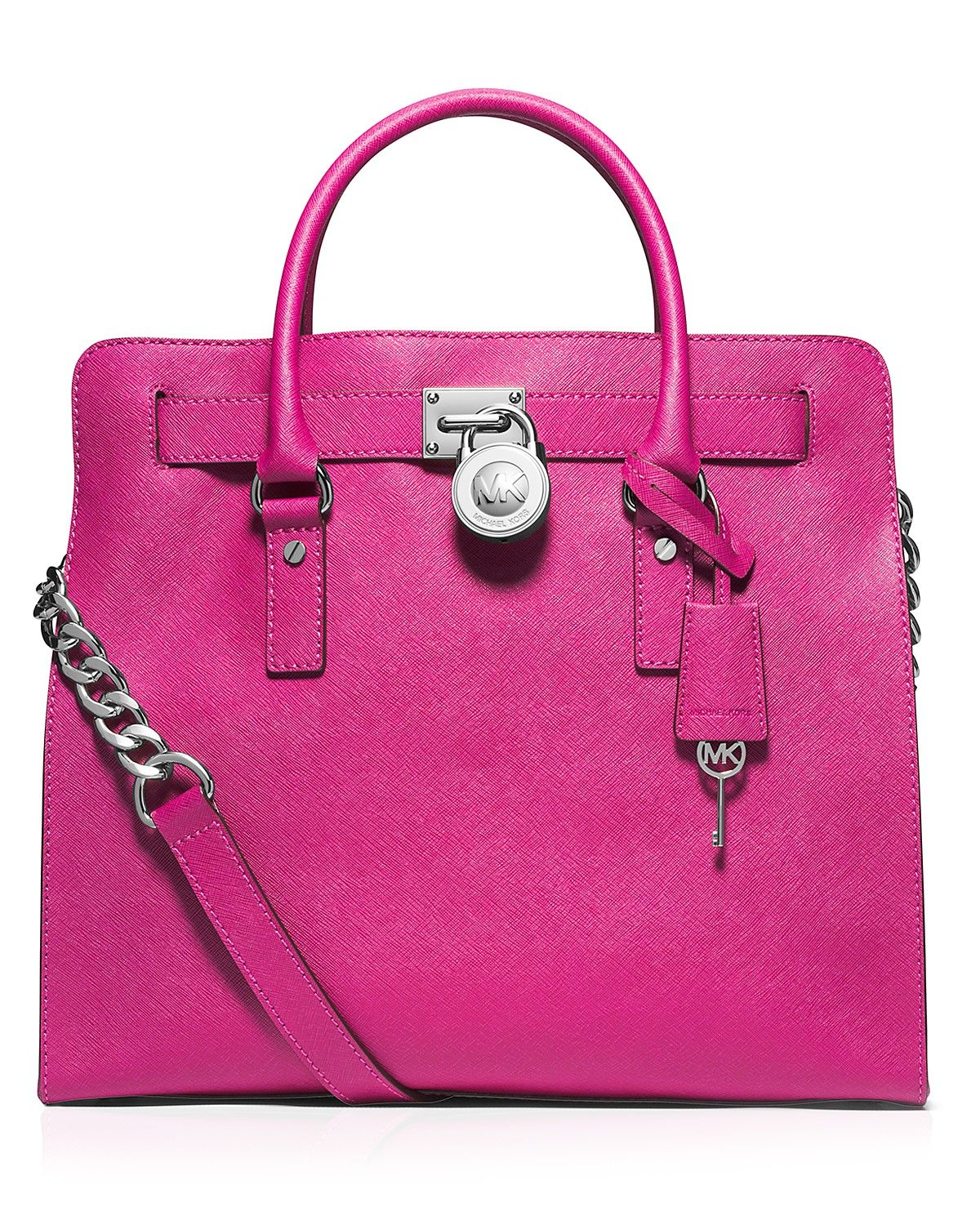 MICHAEL Michael Kors Tote - Hamilton Saffiano Large North South | Bloomingdale's