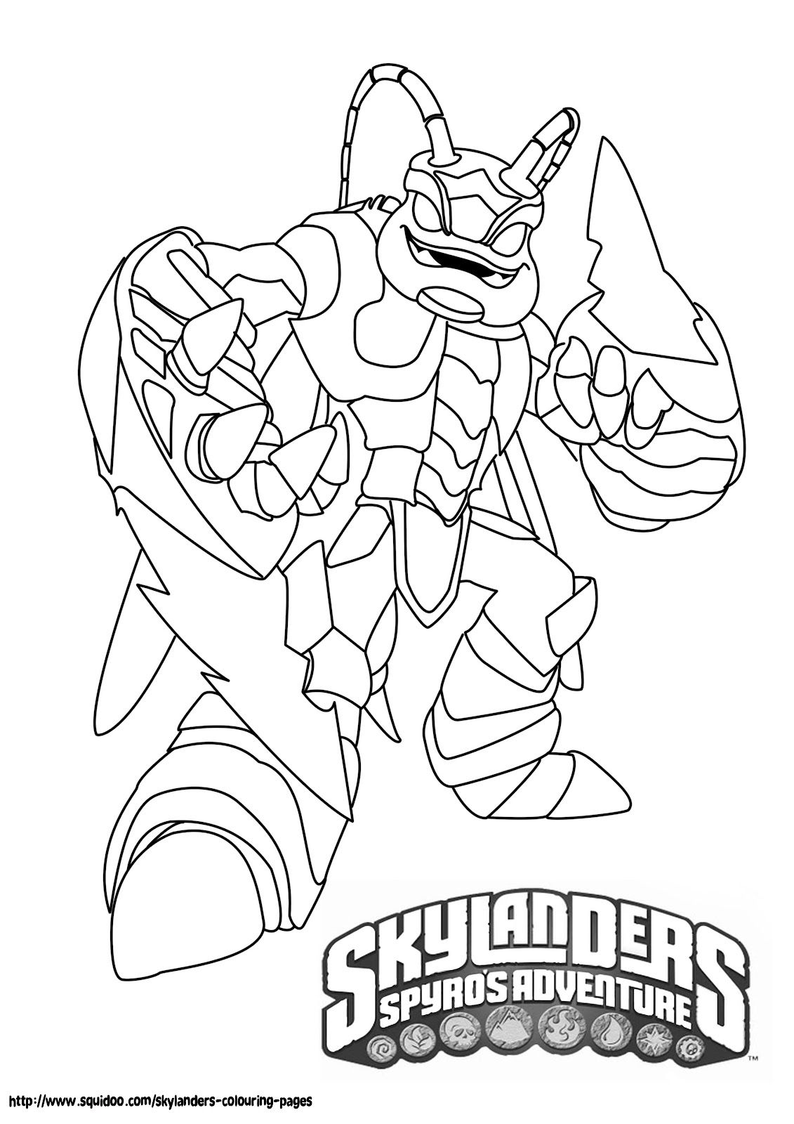 free printable skylander giants coloring pages for kids click
