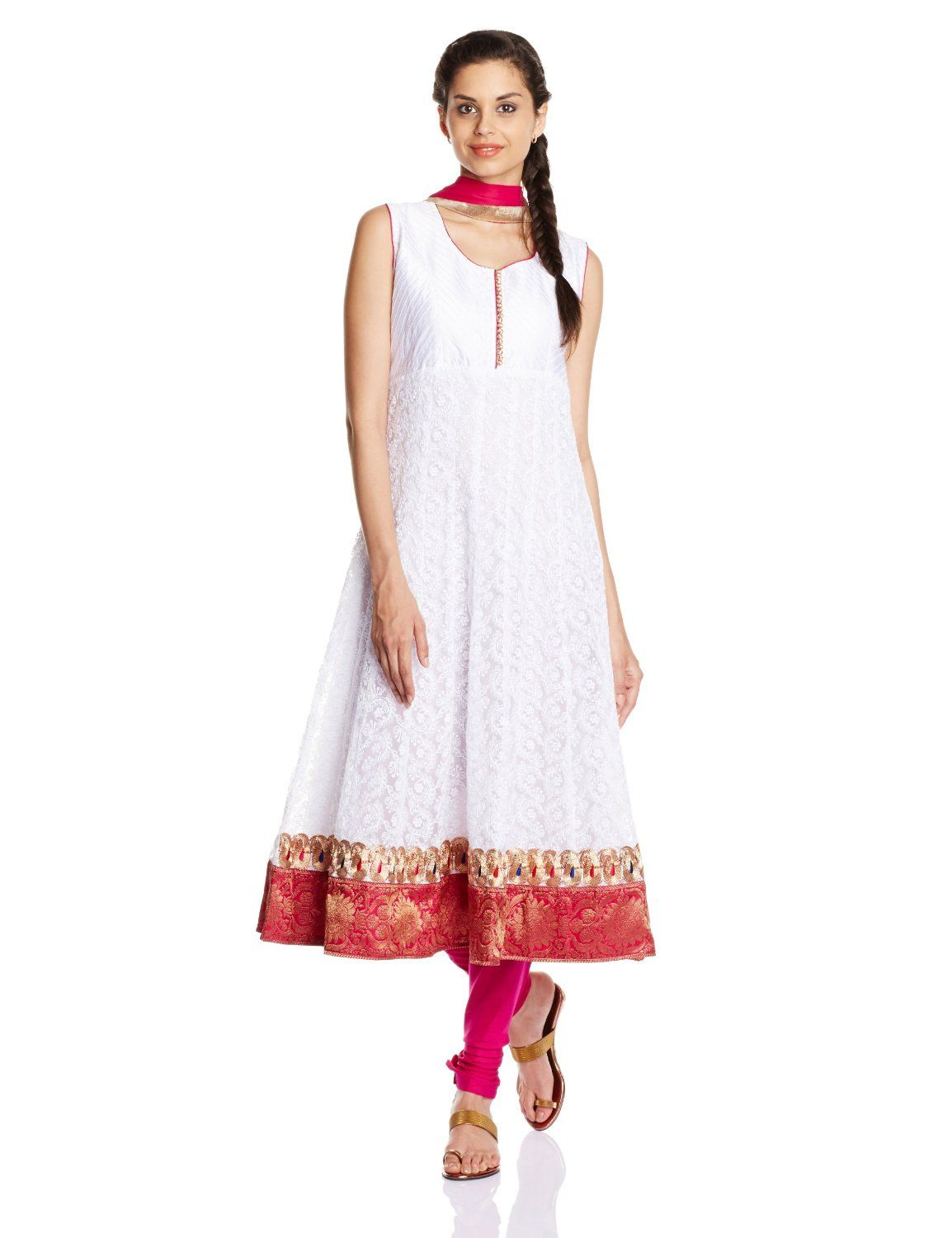 Buy Online Shopping Deals Offers In India Soch chikankari anarkali ...
