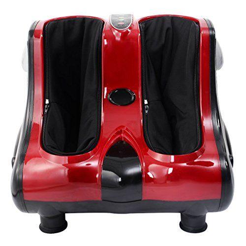 Giantex Shiatsu Kneading Rolling Vibration Heating Foot Calf Leg Massager