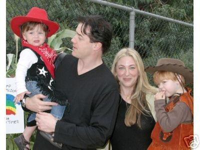 Brendan Fraserr Afton Smith Children Brendan Fraser Celebrity