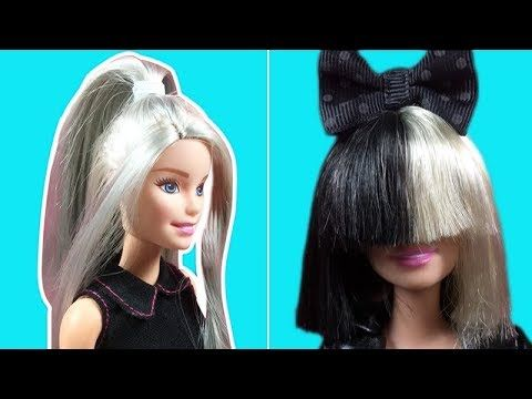 Barbie Hairstyles Amusing Barbie Hair Barbie Hairstyle Tutorial Barbie Hair Color